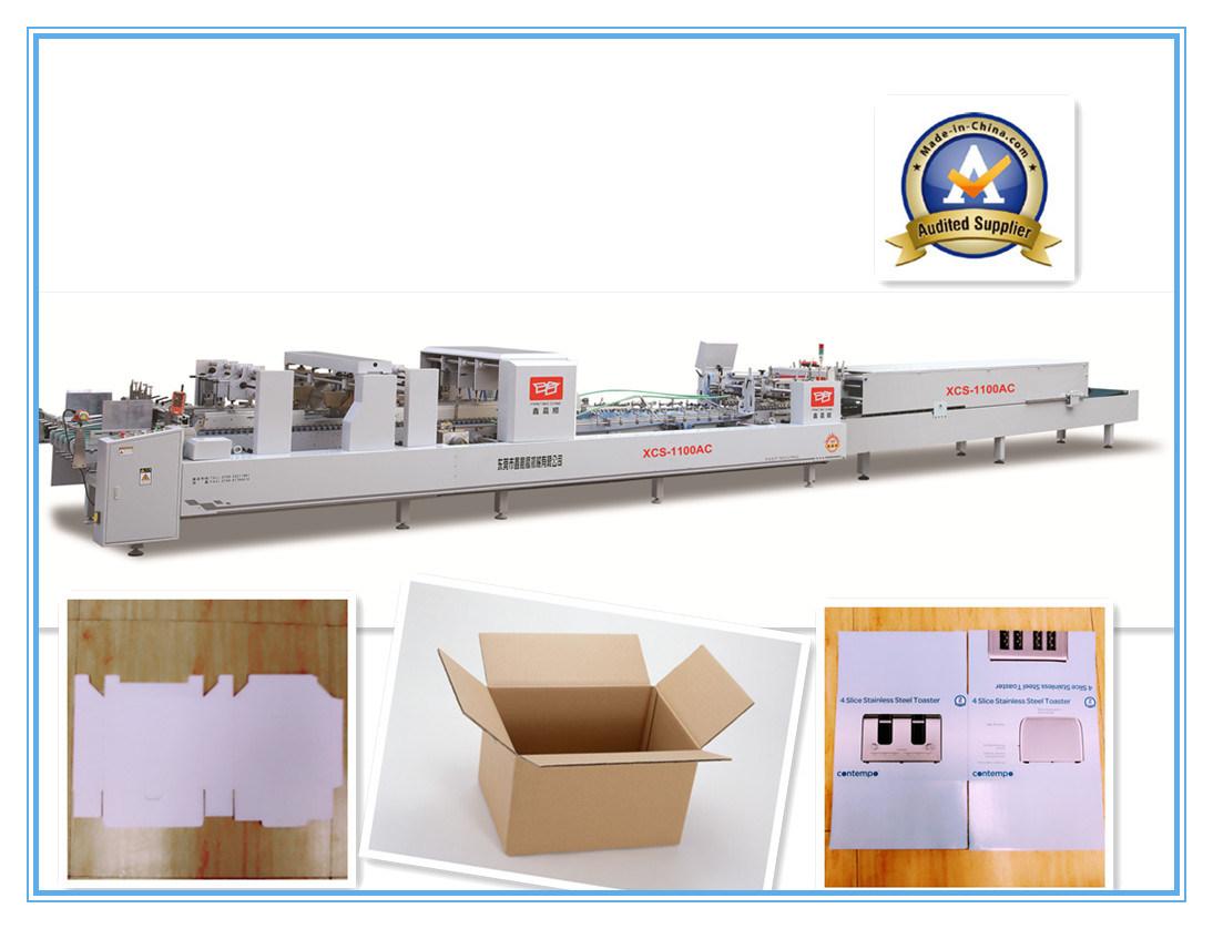Xcs-1100c4c6 Four Six Corner Box Folder Gluer