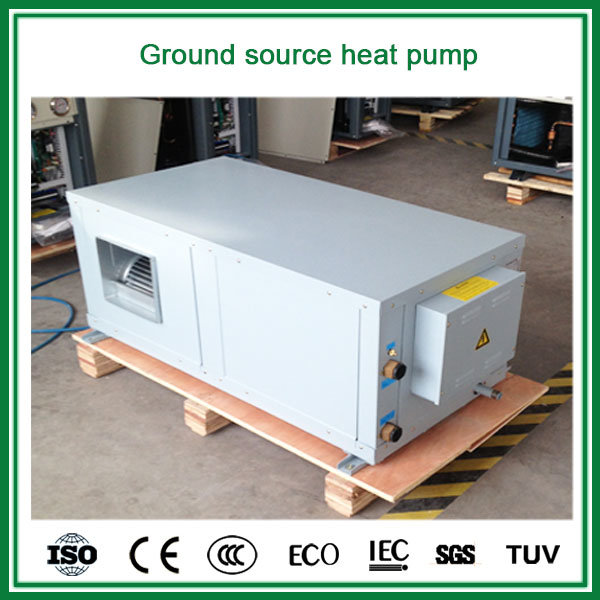GSHP Geothermal Source Connect Air Duct to Room Wind Grid 3kw, 5kw, 9kw, 18kw Water Source Air Conditioner Cooling+Heating Room