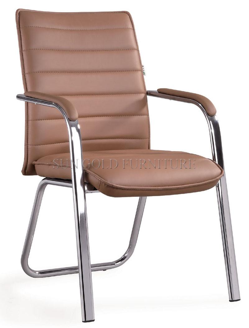 Hot Sale Modern Cheap PU Leather Meeting Chair (SZ-OC147)