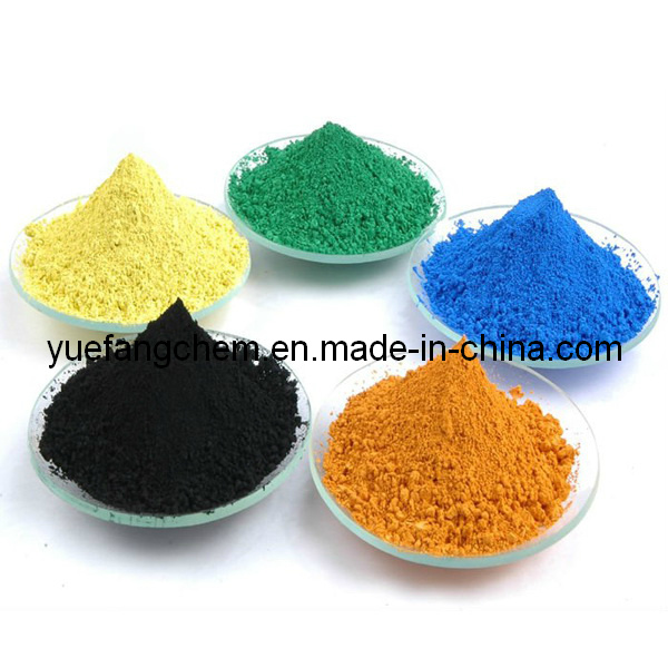 Iron Oxide/Ferric Oxide Red/Yellow/Black/Blue/Green Pigment