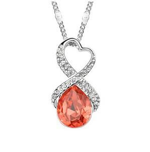 Glory Austrian Diamond Pendant Necklace (XJW12544)