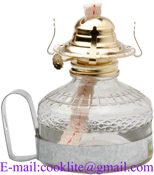 Kerosene Lamp with Metal Handle (A035B)