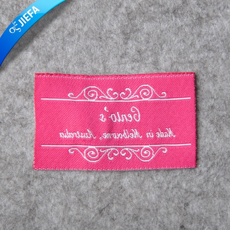 High Density Woven Label for Garment
