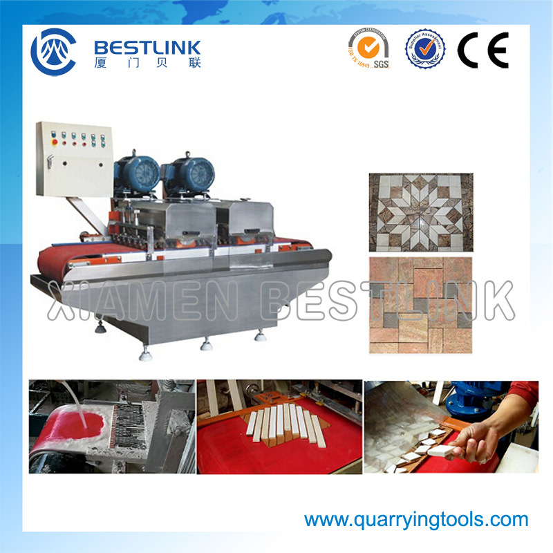 Multi Blade Mosaic Cutting Machine for Ceramic Tiles