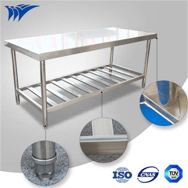 Assembling Stainless Steel Work Table with Patent Design