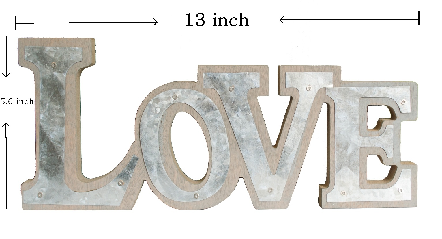 Galvanized Tin Letters China Galvanized Metal Tin Letter Sign Decor  China Letter Wall