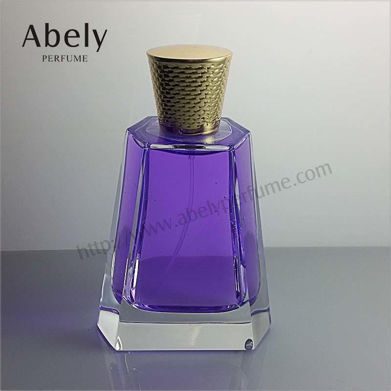 Luxury Polished Spray Glass Perfume Bottle for Unisex