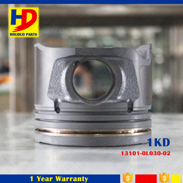 Excavator Diesel Engine Parts 1kd for Piston, OEM Number (13101-0L030-02)