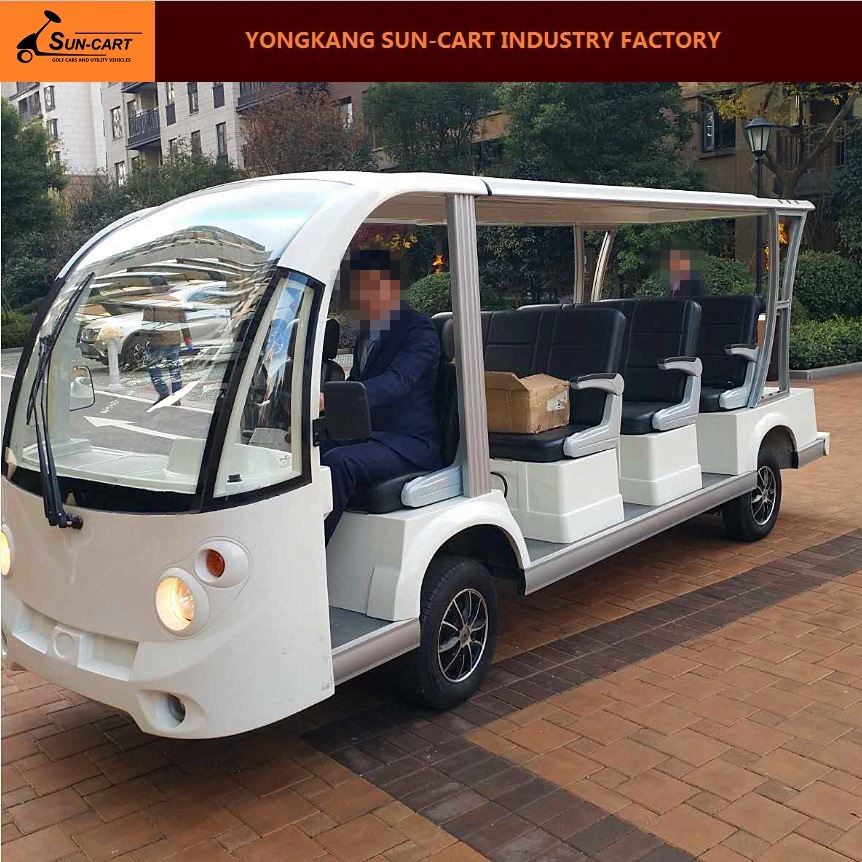 14 Seats Electric Sightseeing Bus