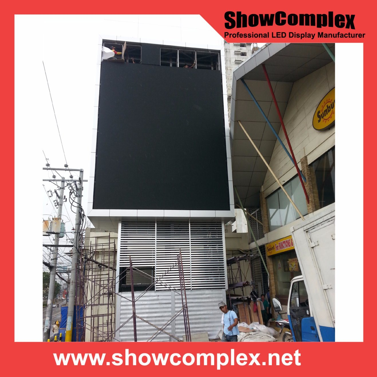 Full Color P10 Outdoor LED Display Screen