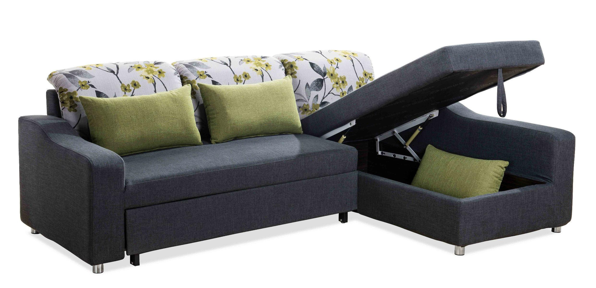 2017 New Design Modern Fabric Living Room Furniture (sofa cum bed)