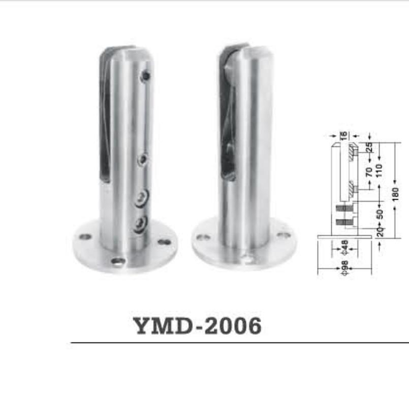 Stainless Steel Casting Pool Upright Post