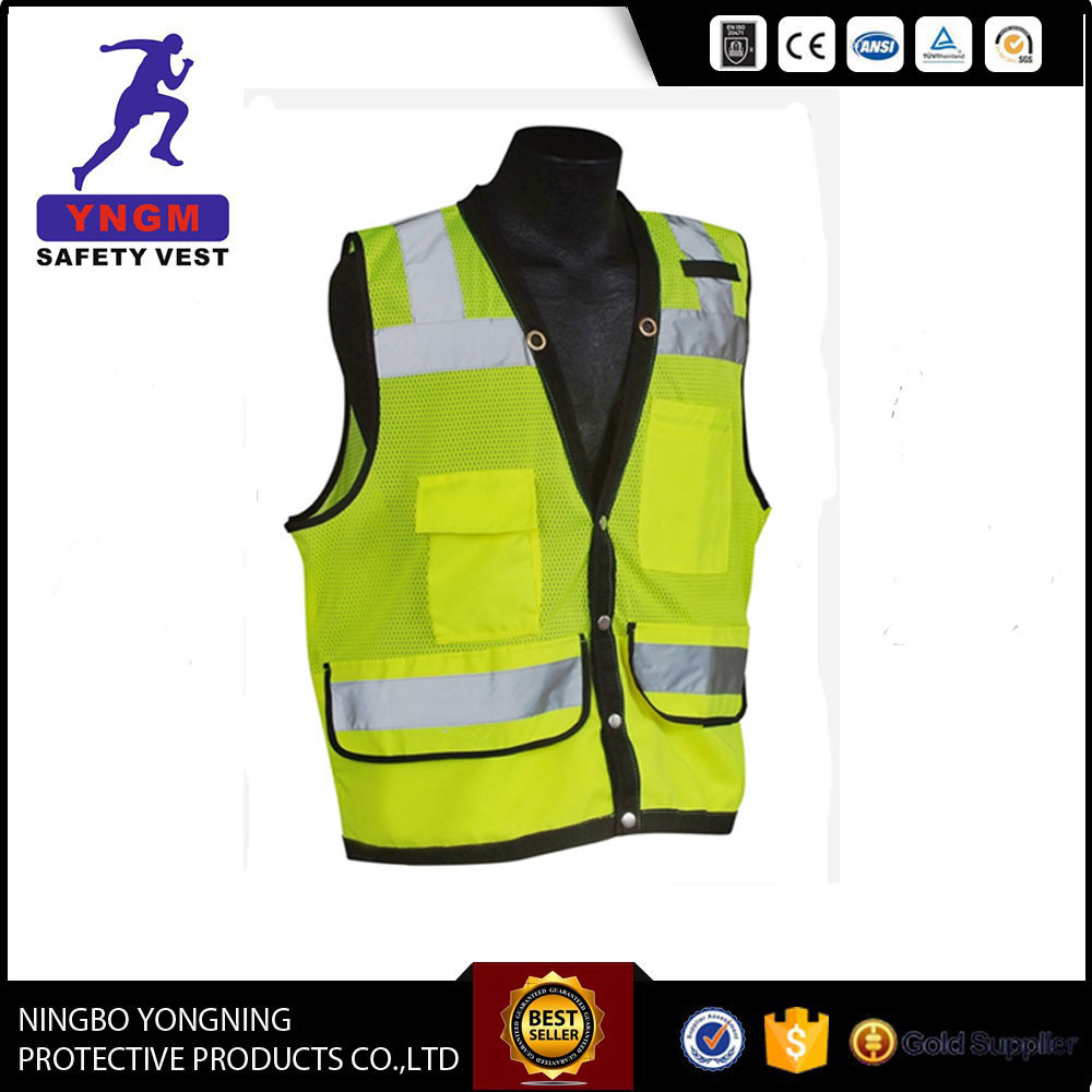 Reflective Safety Vests with High Visibility Material
