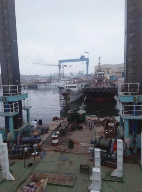 Positioning Pile for Working Ship or Dredger