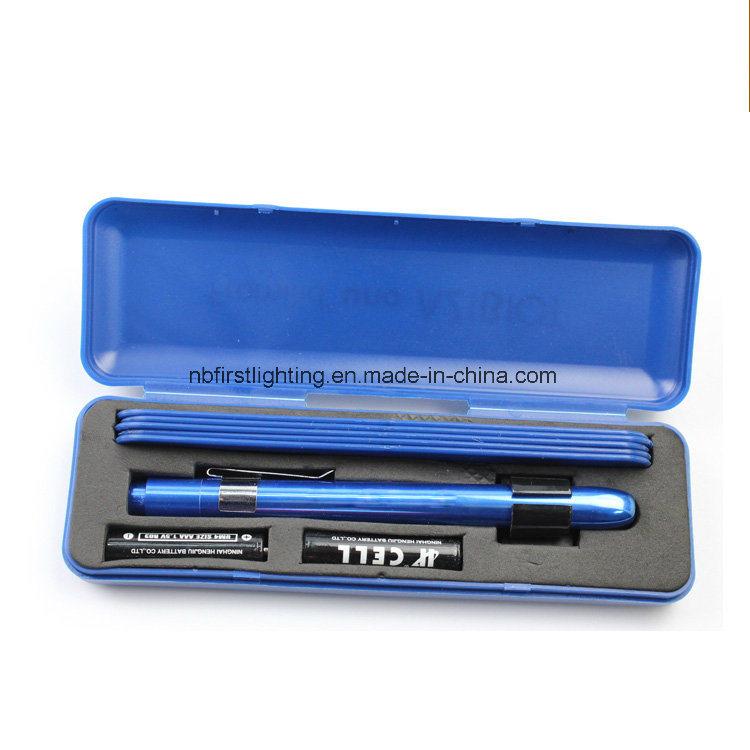 Aluminium Penlight with 5PCS Spatula (F7542A-BOX)