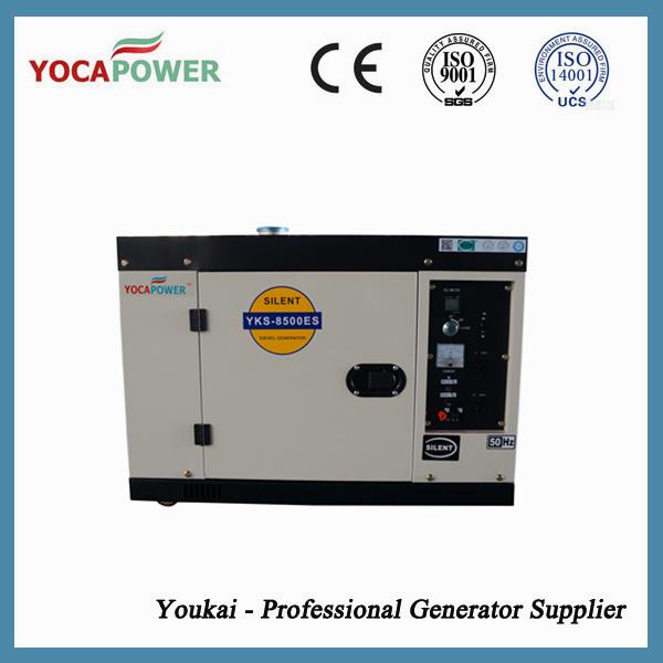 7kVA Portable Soundproof Small Electric Generator