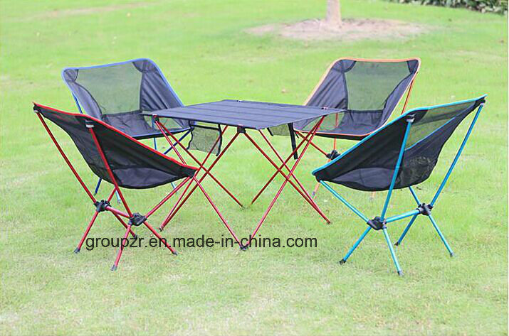 Ultralight Camping Chair Aluminium Moon Chair Fishing Stool