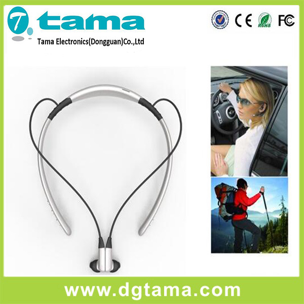 Bluetooth Neckband Headset Wear Around Neck Answering Calls Easily