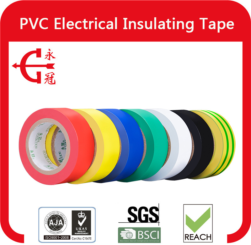 Cheap PVC Electrical Insulation Tape for Wrapping of Wires