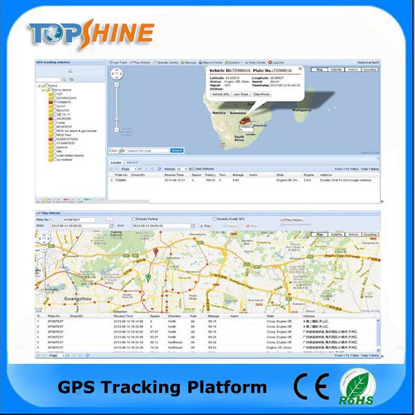 Topshine Online Web-Based GPS Tracking Software (GPRS01) for Fleet Management