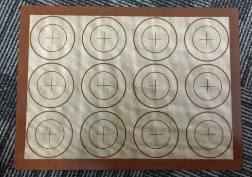 Anti-Slip Silicone Baking Mat Non-Stick Silicone Fabric Baking Liner