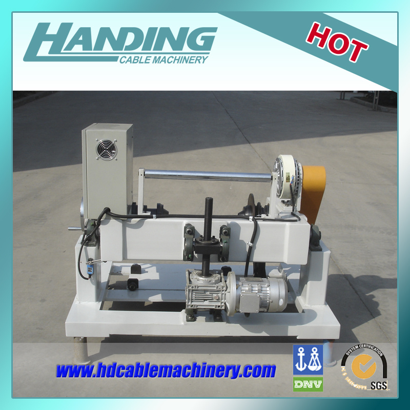 Parallel-Bobbin Respooler for Wire and Cable Manufacture