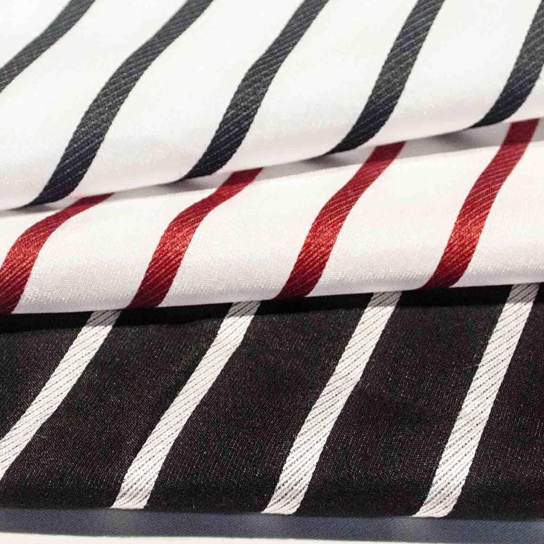 Yarn Dyed Jacquard Chemical Fiber Polyester Fabric for Woman Dress Full Dress Coat