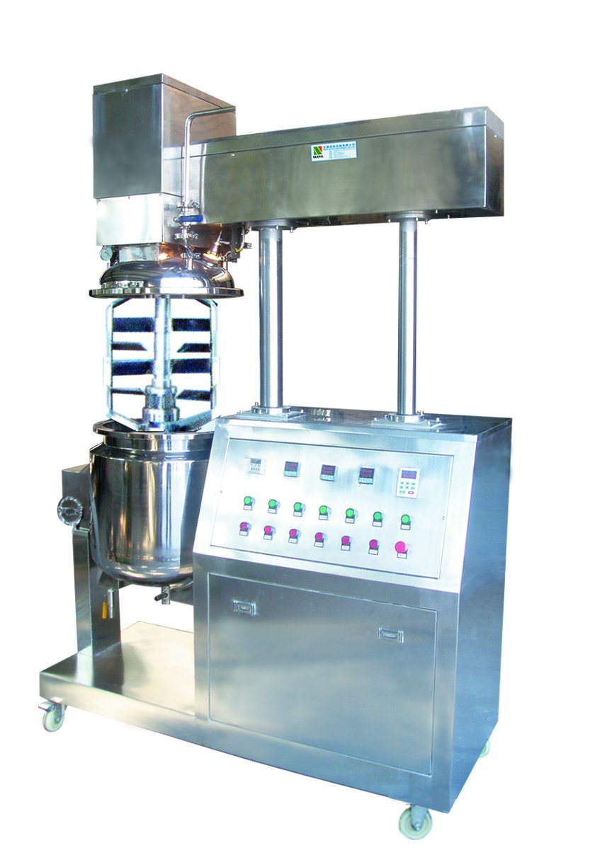 Zjr-5/10 Lab Vacuum Homogenizing Mixer and Emulsifier