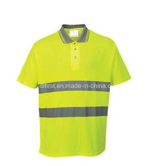 Fashion Hi Visibility Polo Shirt, Meet En/ANSI, Direct Factory