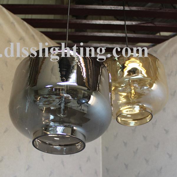 Modern European Creative Colorful Glass Pendant Lights for Decoration