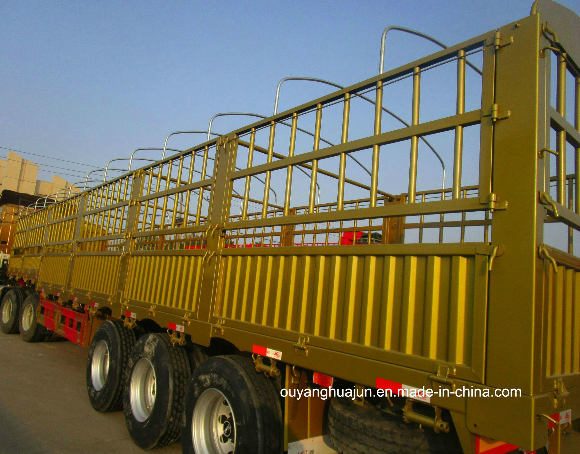 Super Light Stake Semitrailer