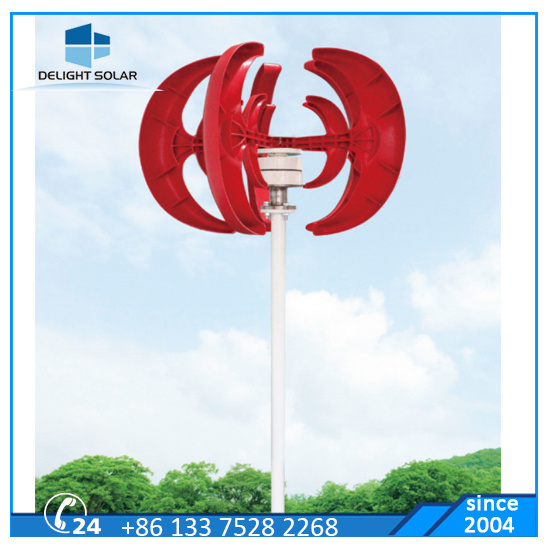 200W/300W/600W off-Grid Vertical Axis Maglev Wind Generator MPPT Wind Power