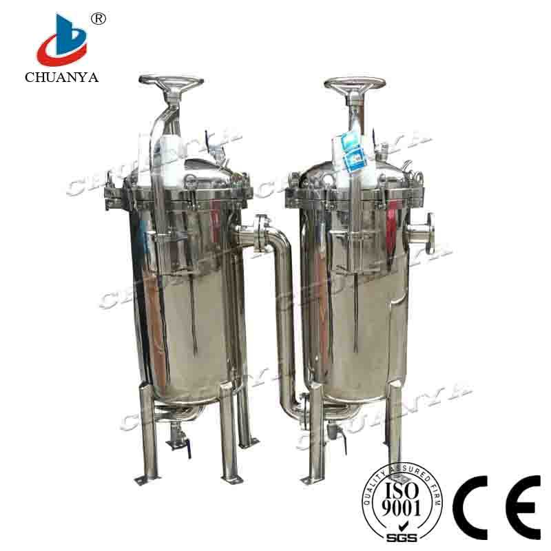 Stainless Steel Water Treatment Multi Bag Water Filter Housing