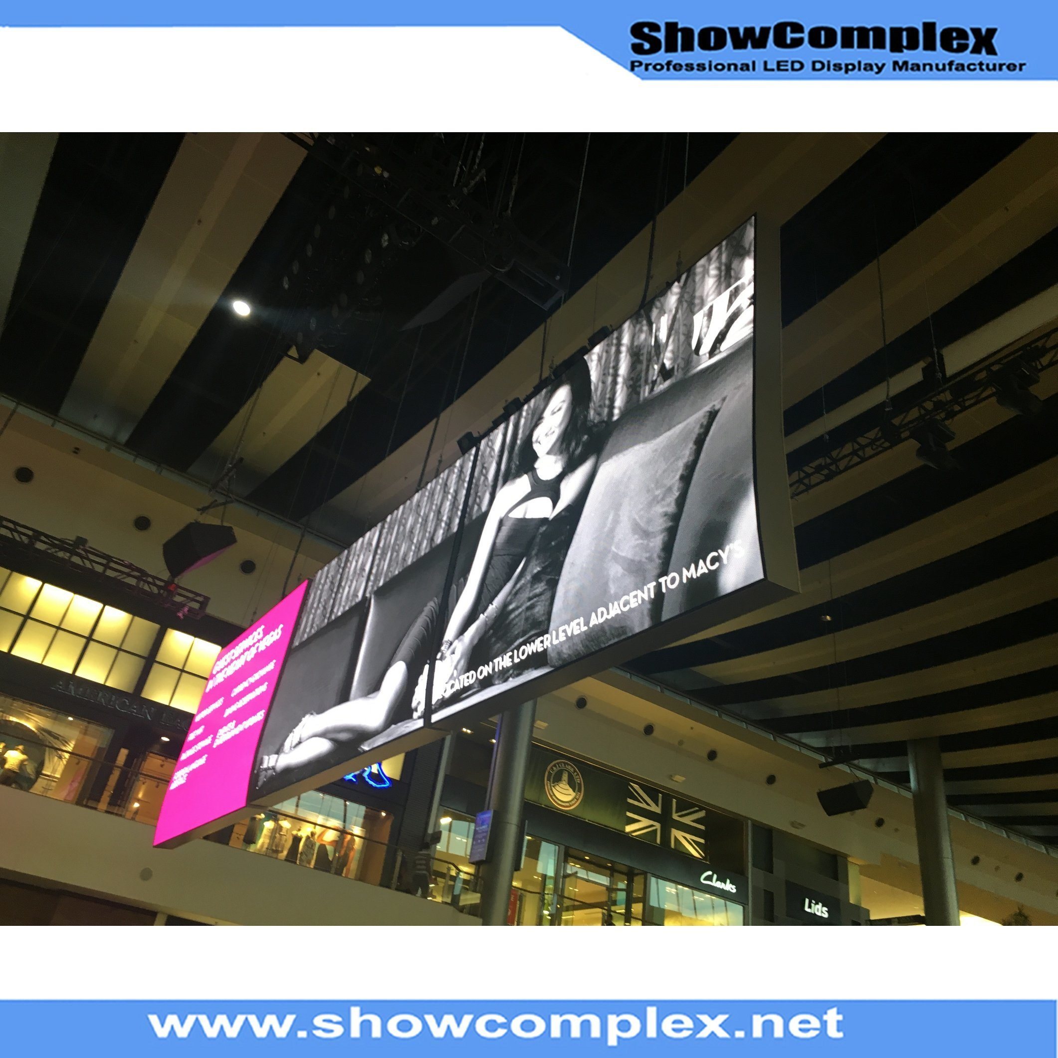 Indoor Full Color Rental LED Video Wall with Ce Approved Cabinet (pH4.81)
