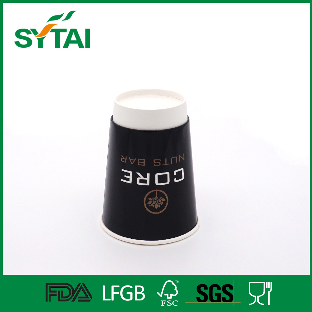 Disposable Custom Logo Printed PE Coated Hot Drinks Double Wall Paper Cup