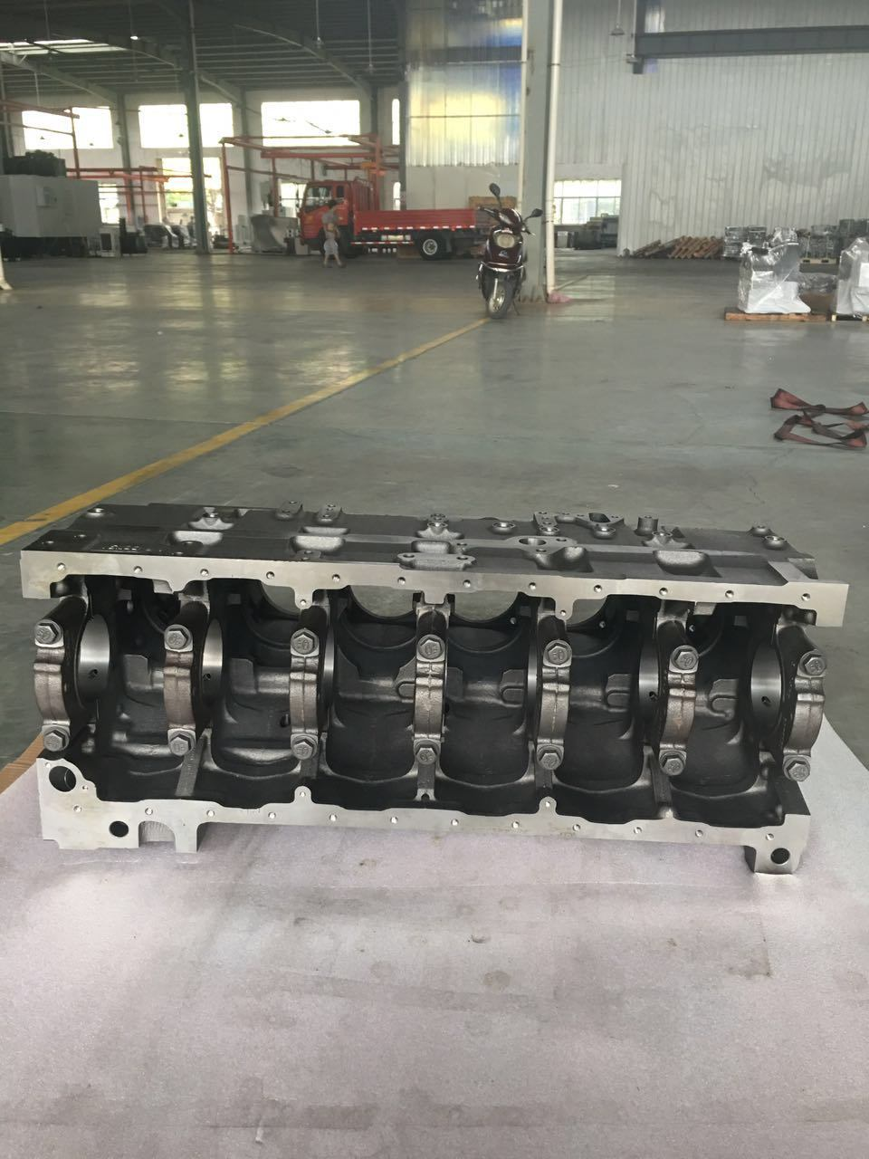 5260561 Gumins Engine Parts Cylinder Block 6CT