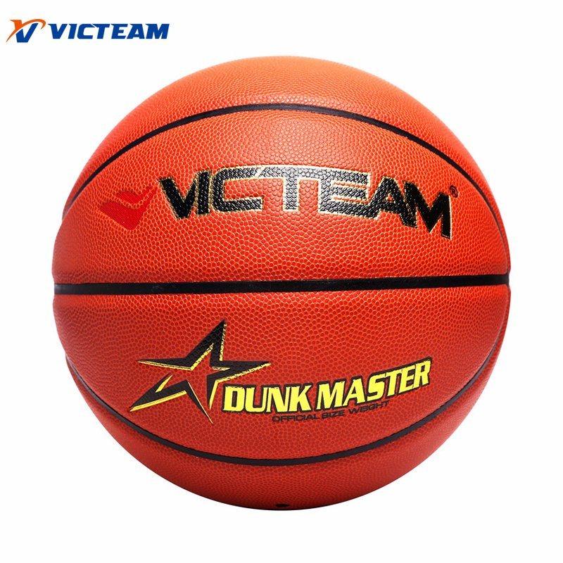 Custom Logo PU Leather Size 7 6 5 Match Basketball