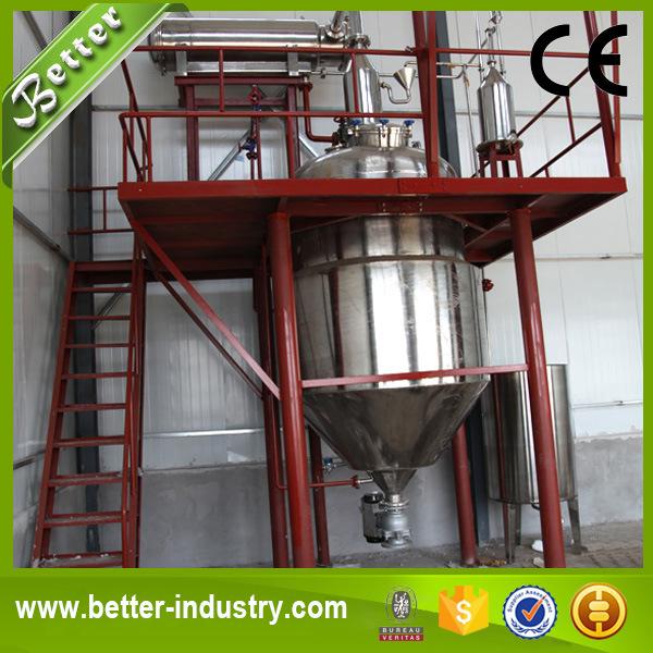 Jasmine Essential Oil Solvent Extraction Machine / Essential Oil Distillation Unit