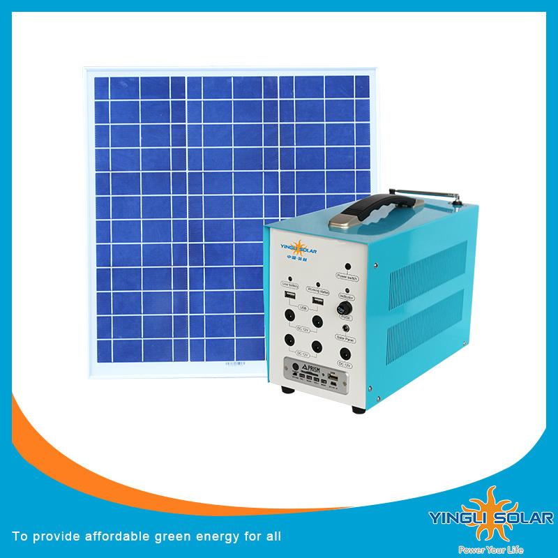 (SZYL-SLK-7020) 6PCS Remote Control LED Lamp Solar Light Kits