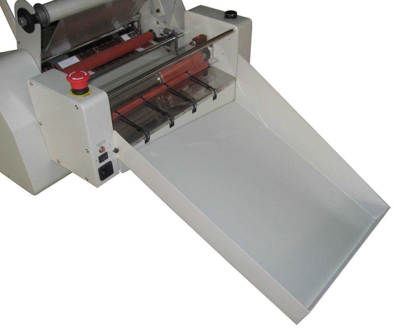 Professional Manufacturer Automatic 340mm Hot Roll Laminating Machine