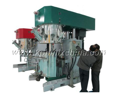 Dual Planetary Mixer Machine