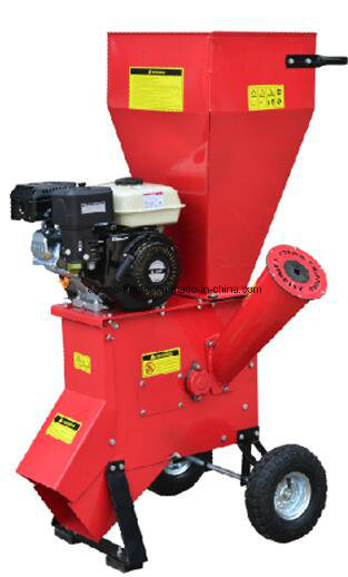Cheap Price Gasoline 9HP Wood Chipper Shredder for Sale with Ce EPA