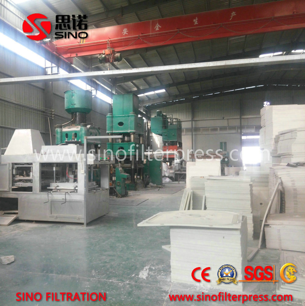 Industrial Hydraulic Automatic Membrane Filter Press for Sludge Dewatering