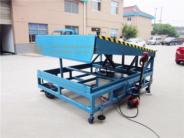 Stationary Hydraulic Scissor Dock Ramp (DCQ10-0.6)