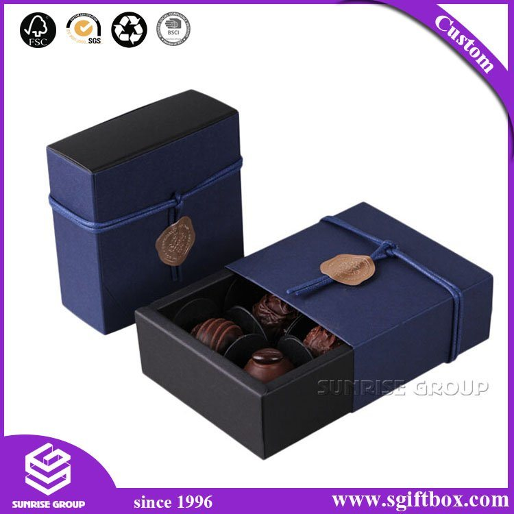 Eco-Friendly Bespoke Carboard Packaging Gift Candy Chocolate Box
