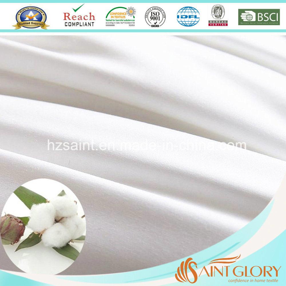 Hotel Snow White Microfiber Filling Polyester Comforter