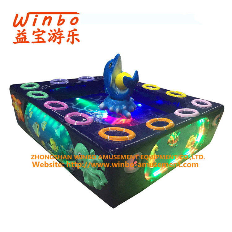 ISO9001 Factory 2017 Hot Sale Amusement Equipment Fishing Pool for Children Playground (F01-A)