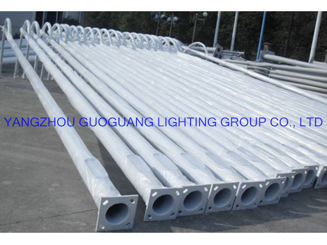 Q235 Hot-DIP Galvanized Street Light Pole