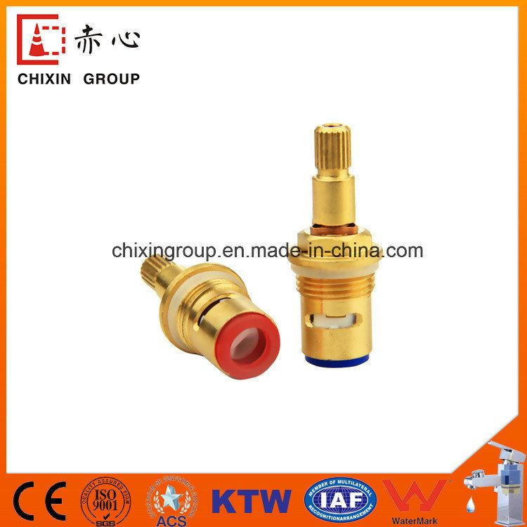 Plastic Ceramic Cartridge Brass Handle