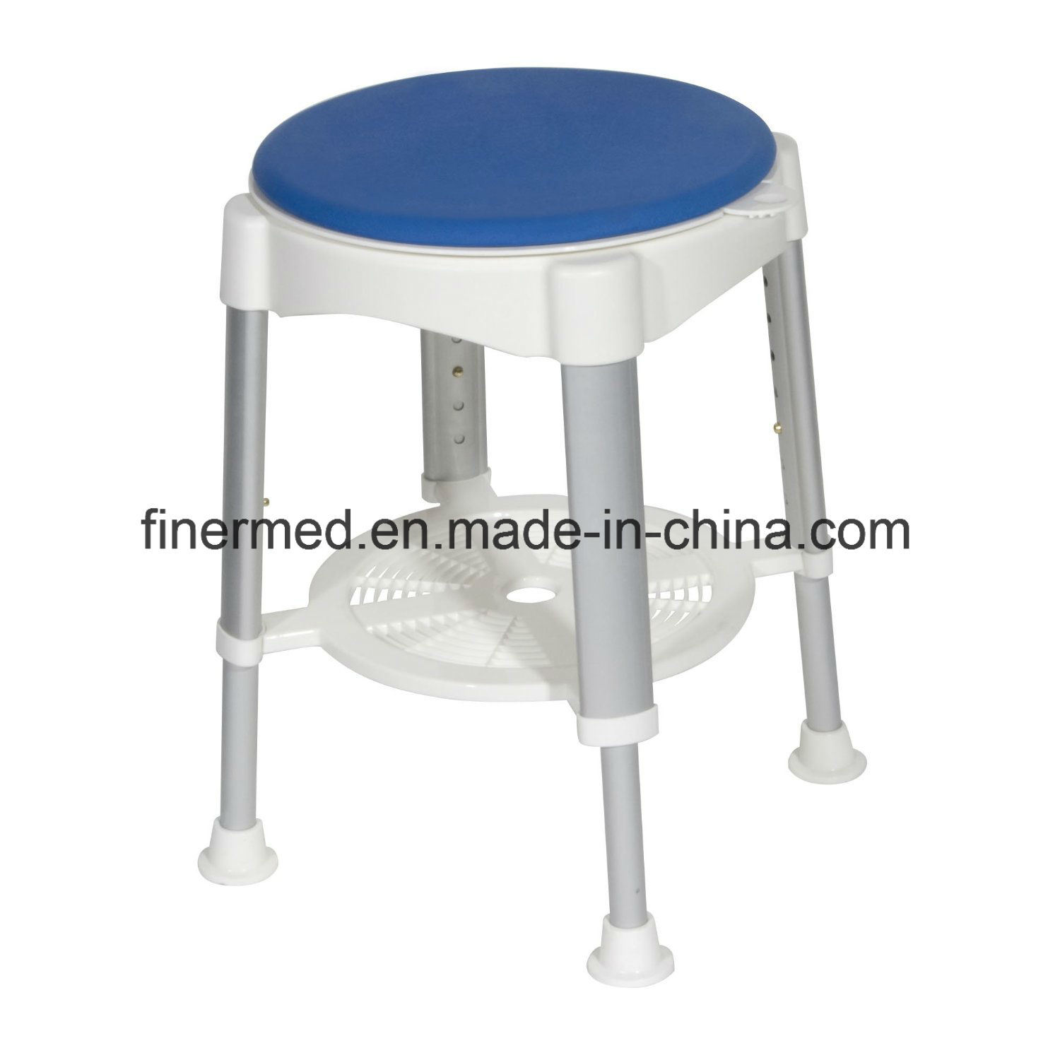 Round Circular Adjustable Shower Stool